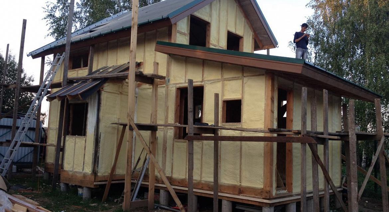 Фото ошибок в утеплении каркасных домов